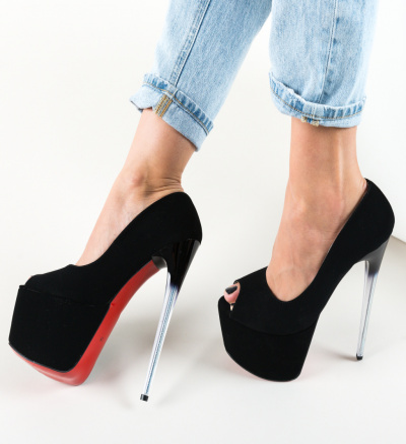 Pantofi Perception Negri
