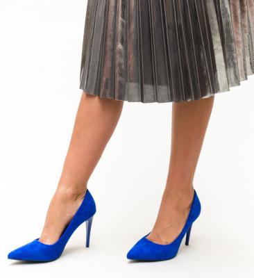 Pantofi Polon Albastri 2