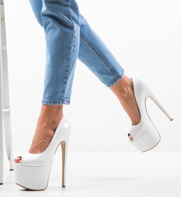 Pantofi Quker Albi