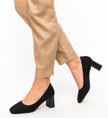 Pantofi Raes Negri 2