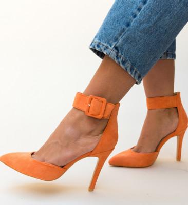 Pantofi Ravlin Portocalii