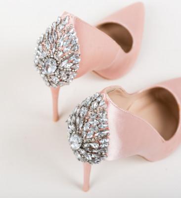 Pantofi Sabrin Nude 2