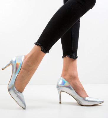 Pantofi Specgaro Argintii