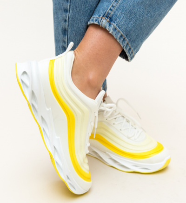 Pantofi Sport Austen Galbeni