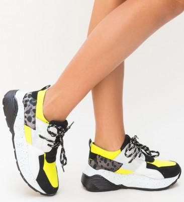 Pantofi Sport Bran Galbeni