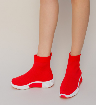 Pantofi Sport Doroti Rosii
