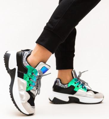 Pantofi Sport Eren Argintii
