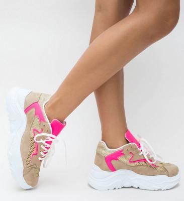 Pantofi Sport Erika Bej