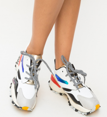 Pantofi Sport Fils Albi