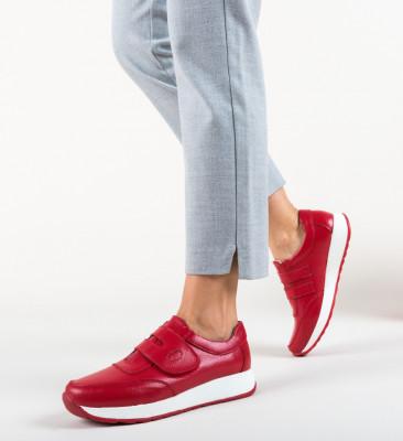 Pantofi Sport Hoffman Rosii