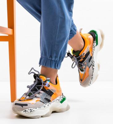 Pantofi Sport Lajeko Portocalii