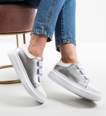 Pantofi Sport Letura Argintii