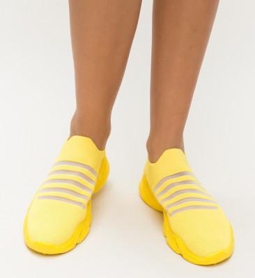 Pantofi Sport Luner Galbeni