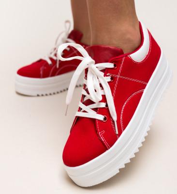 Pantofi Sport Maddox Rosii