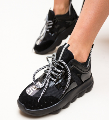 Pantofi Sport Medoza Negri