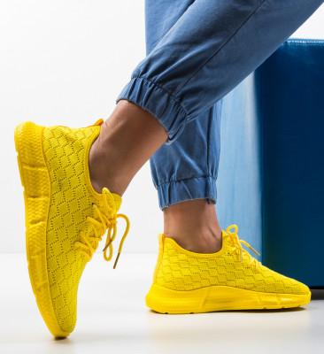 Pantofi Sport Moore Galbeni