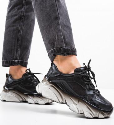 Pantofi Sport Mshot Negri