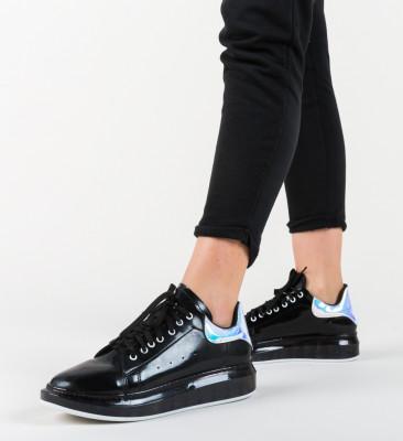 Pantofi Sport Queen Negri