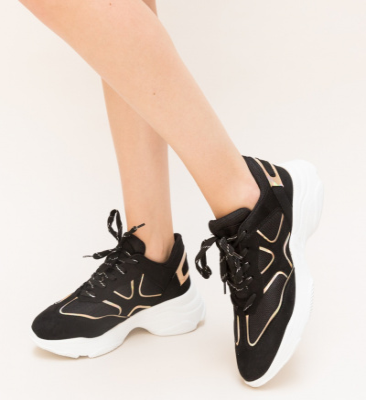 Pantofi Sport Stem Negri