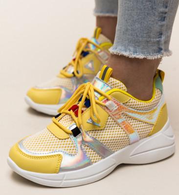 Pantofi Sport Tamia Galbeni