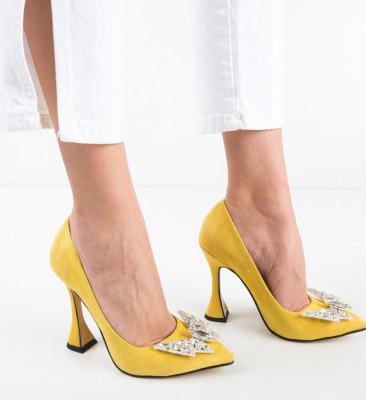 Pantofi Stelizaza Galbeni