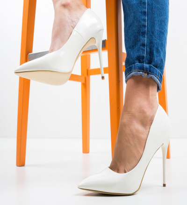 Pantofi Telio Albi