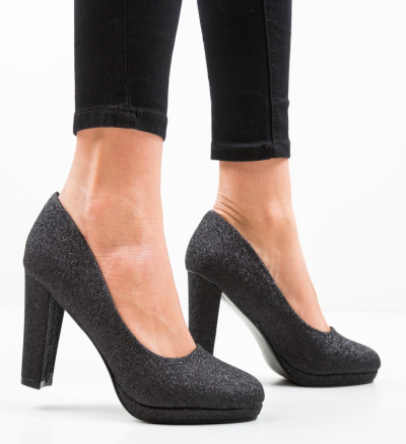Pantofi Tregaza Negri
