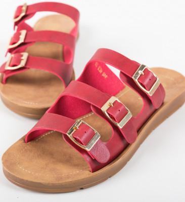 Papuci Balance Rosii