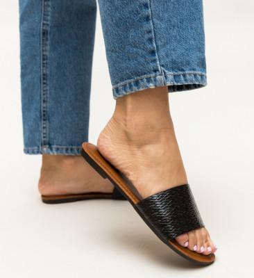 Papuci Brax Negri