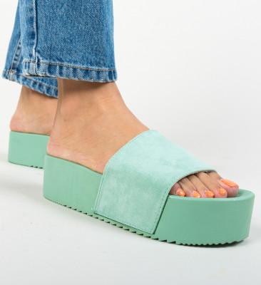 Papuci Escar Verzi