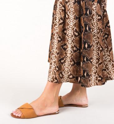 Papuci Harlek Camel