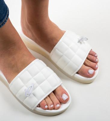 Papuci Harper Albi