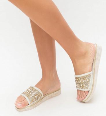 Papuci Pasgo Bej
