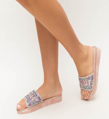 Papuci Zemel Roz