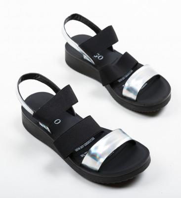 Sandale Austin Argintii 2