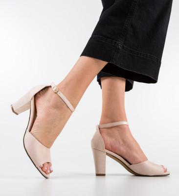 Sandale Blanc Bej