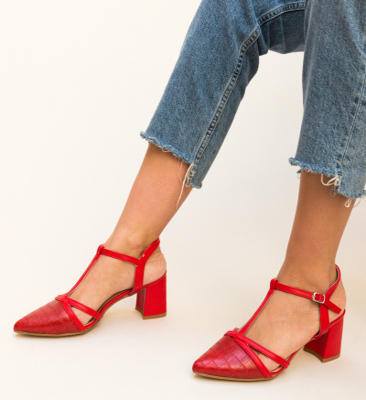 Sandale Cinar Rosii