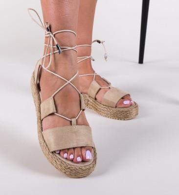 Sandale Clopo Bej