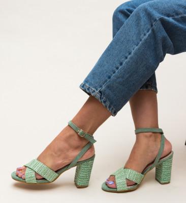 Sandale Deles Verzi