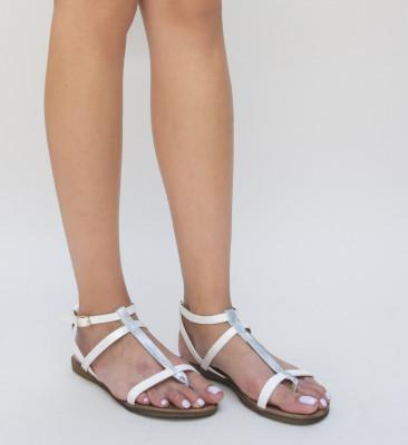 Sandale Humas Albe