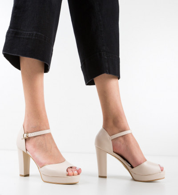 Sandale Iarasi Bej 2