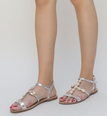 Sandale Kingo Argintii