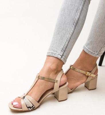 Sandale Leopoldo Bej