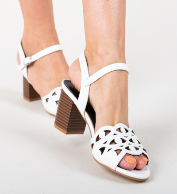 Sandale Lope Albe