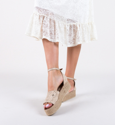 Sandale Milina Bej
