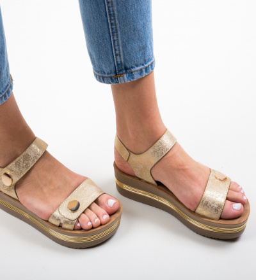 Sandale Penty Aurii 2