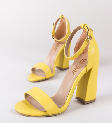 Sandale Pirelio Galbene 2