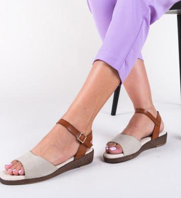 Sandale Sindo Bej