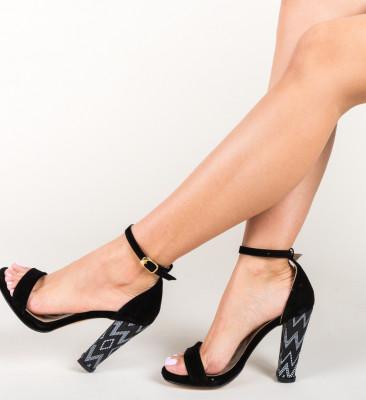 Sandale Sosko Negre 2