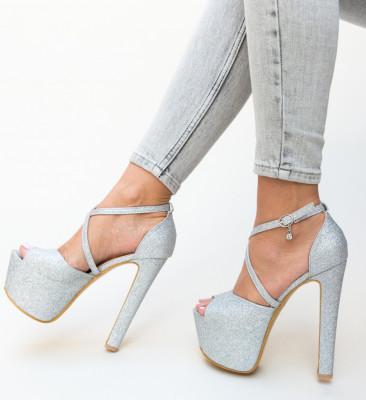 Sandale Trolex Argintii